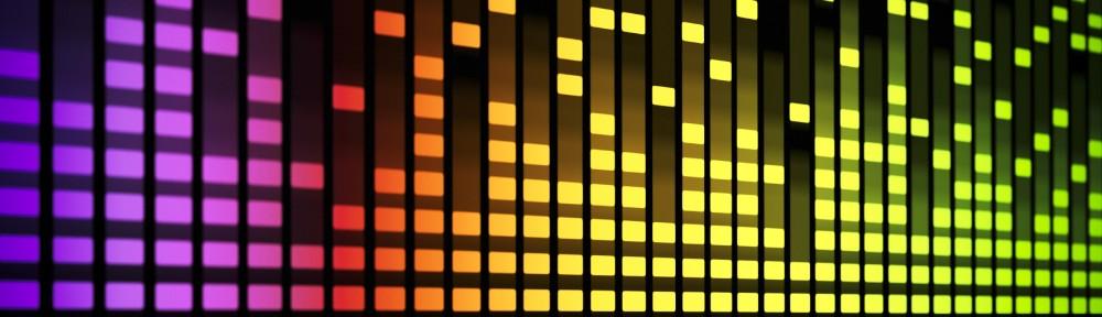 Elektro Musik Logo um Elektronische Musik